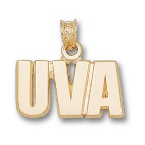 University of Virginia 3/8in 10k UVA Pendant