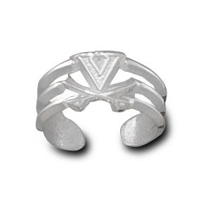 University of Virginia Sterling Silver Toe Ring
