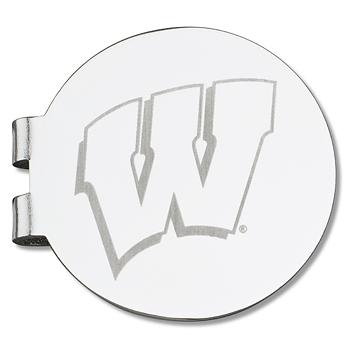 University of Wisconsin Laser Engraved Money Clip