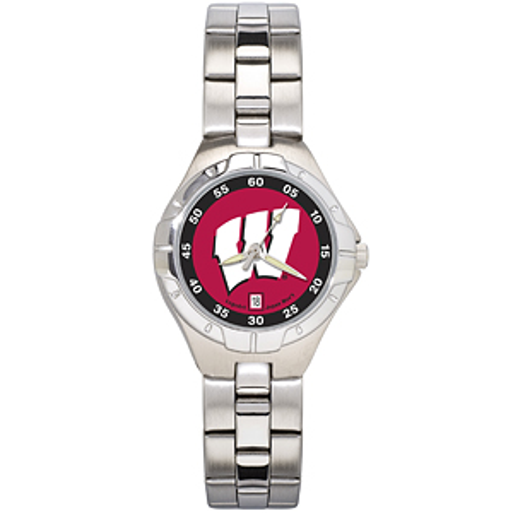 University of Wisconsin Ladies Stainless Pro II Watch