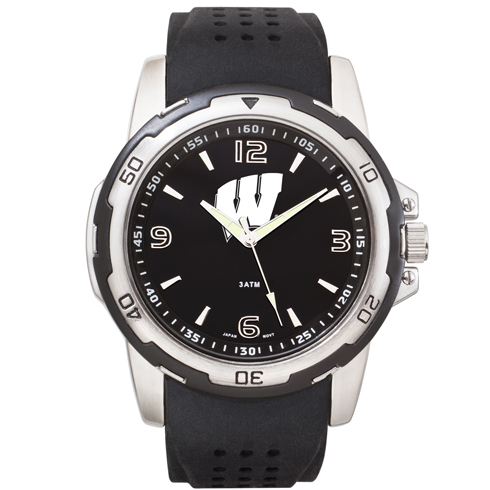 University of Wisconsin Stealth Men's Sport Watch