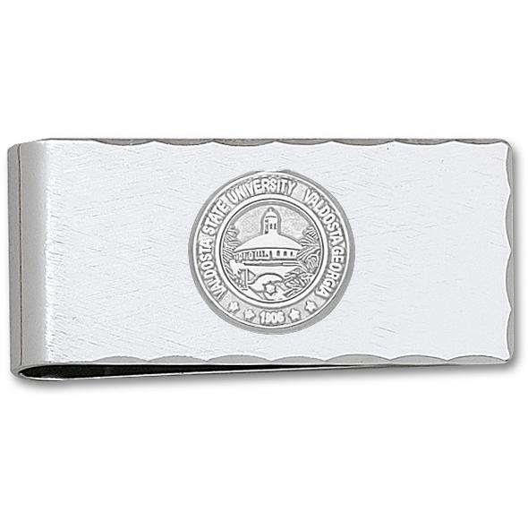 Silver Plated Valdosta State University Money Clip