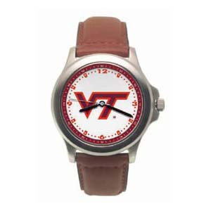Virginia Tech Hokies Rookie Leather Watch - Clearance