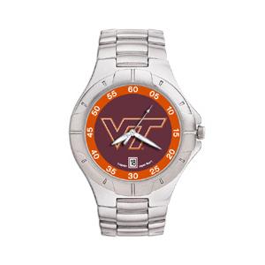 Virginia Tech Hokies Mens Stainless Pro II Watch