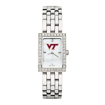 Virginia Tech University Allure Watch with Stainless Steel Bracelet