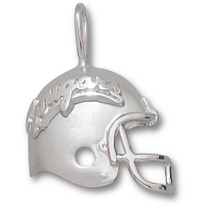Washington State 3/4in Sterling Silver Helmet Pendant