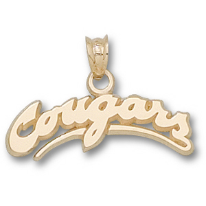 Washington State Cougars 5/16in 14k Pendant