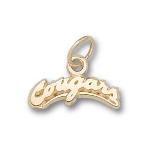 Washington State Cougars 1/4in 10k Pendant