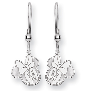 Minnie Dangle Wire Earrings - Sterling Silver