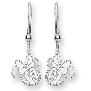 Minnie Dangle Wire Earrings - Sterling Silver