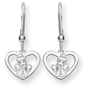 Cinderella Wire Earrings - Sterling Silver