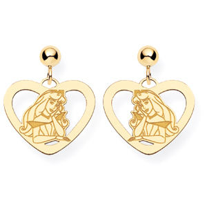 Aurora Post Earrings - Gold-Plated