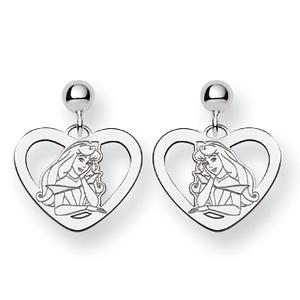 Sterling Silver Aurora Dangle Post Earrings
