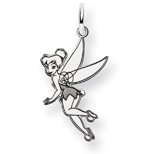 Sterling Silver 3/4in Tinker Bell Charm