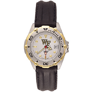 Wake Forest Demon Deacons Ladies' All Star Leather Watch
