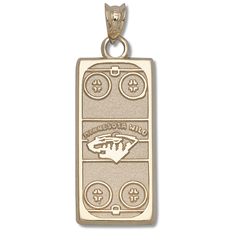 Minnesota Wild Rink 14kt Yellow Gold