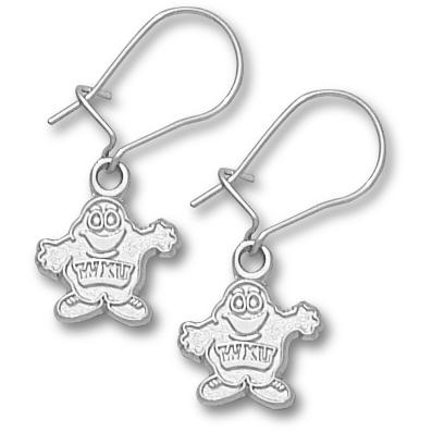 Western Kentucky 3/8in Earrings Sterling Silver