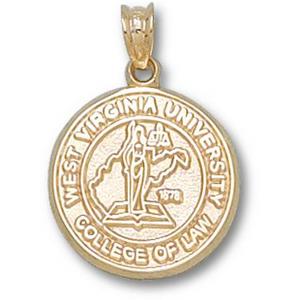 West Virginia 5/8in 14k Law Seal Pendant