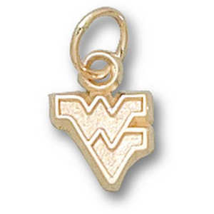 West Virginia Mountaineers 1/4in 10k Pendant