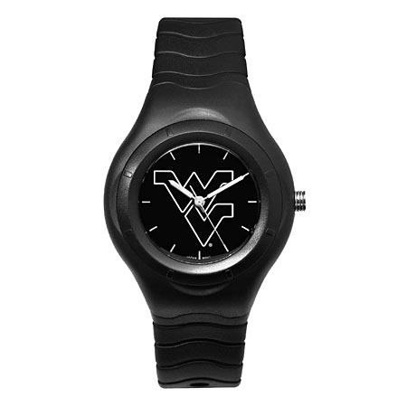 West Virginia University Shadow Black Sports Watch