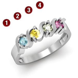 Rounds of Romance Ring