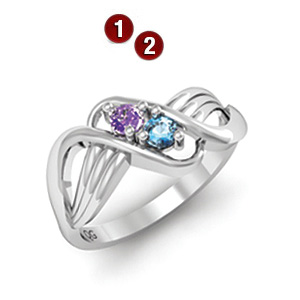 Twist of Twilight Ring