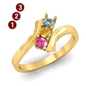 Adoring Child Ring