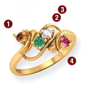 Family Flourish Ring