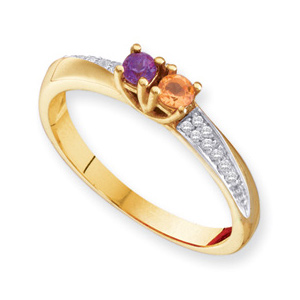 Sparkling Twist Ring