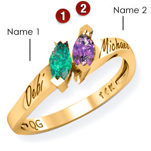 Marvelous Match Promise Ring