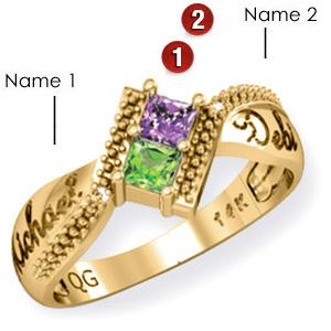 Prancing Promise Ring