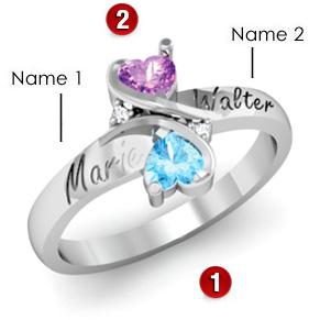 Loving Hearts Ring