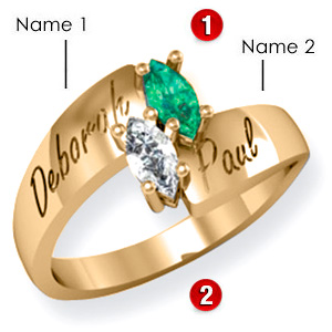Mark of Love Ring