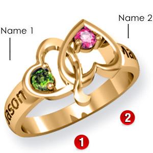 Bridge of Hearts Promise Ring