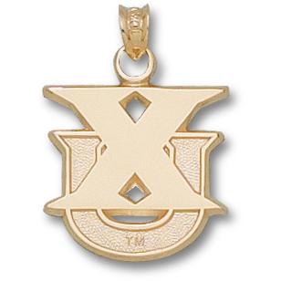 14kt Yellow Gold 5/8in Xavier XU Pendant