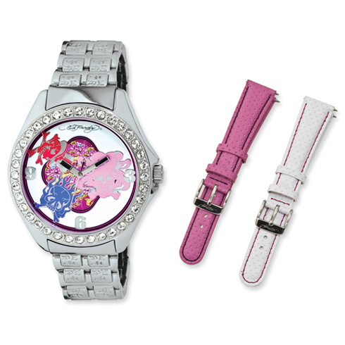 Women's Ed Hardy Ace Watch - Interchangeable