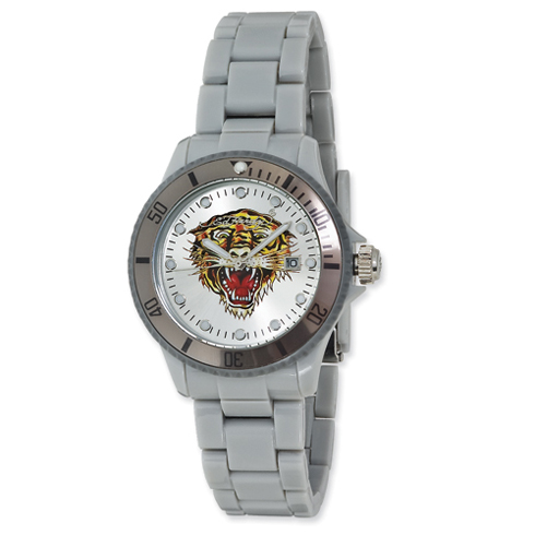 Ed Hardy VIP Watch - Silver