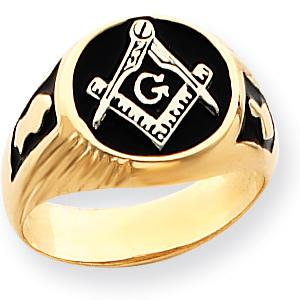 Blue Lodge Signet Ring - 14k Gold