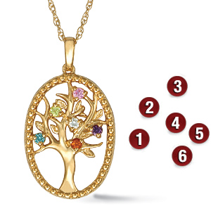 Family Tree Mother's Pendant