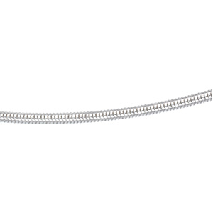 18in Round Snake Chain 3.25mm