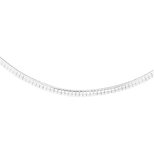 16in Domed Omega Chain 3mm
