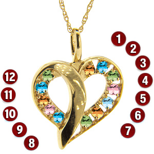 Passion Heart Pendant & Chain