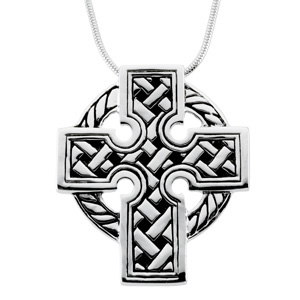 1 1/2in Celtic Cross & Chain