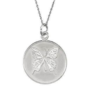 Sterling Silver Loss of Mother Pendant - No Chain