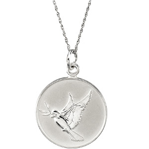 Sterling Silver Forgiveness Pendant & Chain