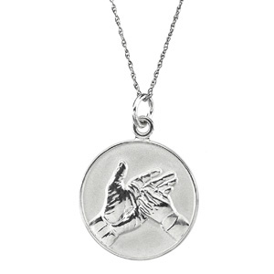 Sterling Silver Loss of Child Pendant & Chain