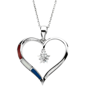 Heart of Honor Pendant & Chain