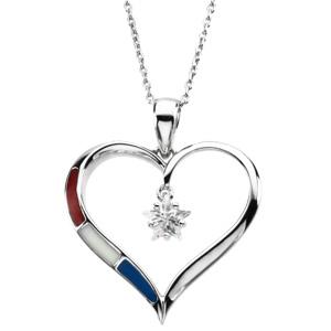Heart of Honor Pendant & Chain