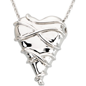 Guard Your Heart Pendant and Chain