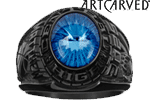 Medalist Class Ring - Eclipse Siladium